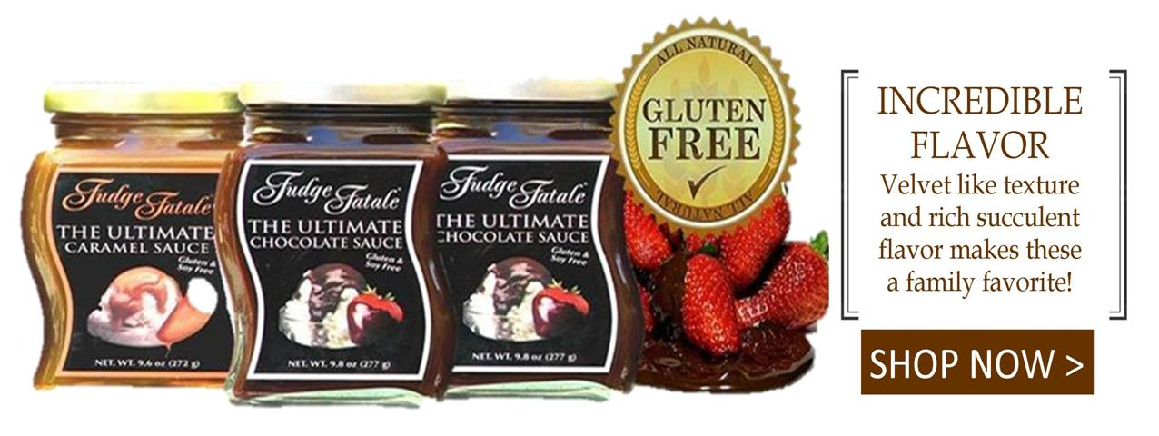 GMB Specialty Foods Fudge Fatale Dessert Sauces